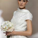 vestido de novia crop top