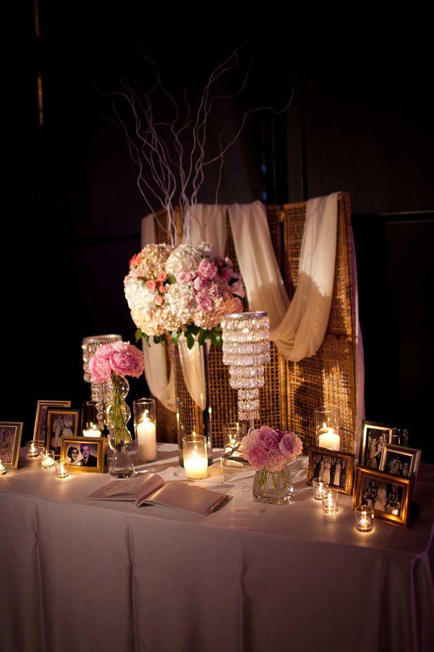 Estilo glam en decoraci n de salones para bodas parte ii - Mesas de libro para salon ...