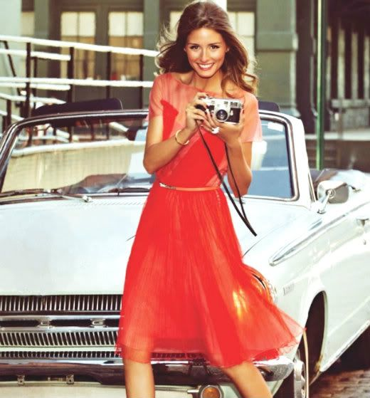 Inspírate con los vestidos y fabuloso look glam de Olivia Palermo