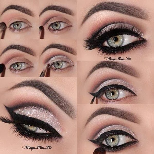 7a2e404439e Maquillaje de ojos ahumados paso a paso para día y noche