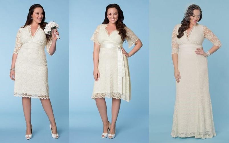 Vestidos Para Matrimonio Civil Para Gorditas De Moda