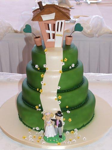 Sorprende a tus invitados con este pastel de una casita en la montaña