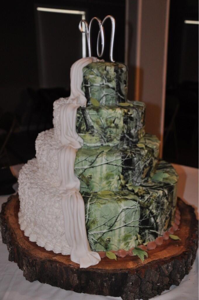 Tarta decorada bicolor muy ecológico
