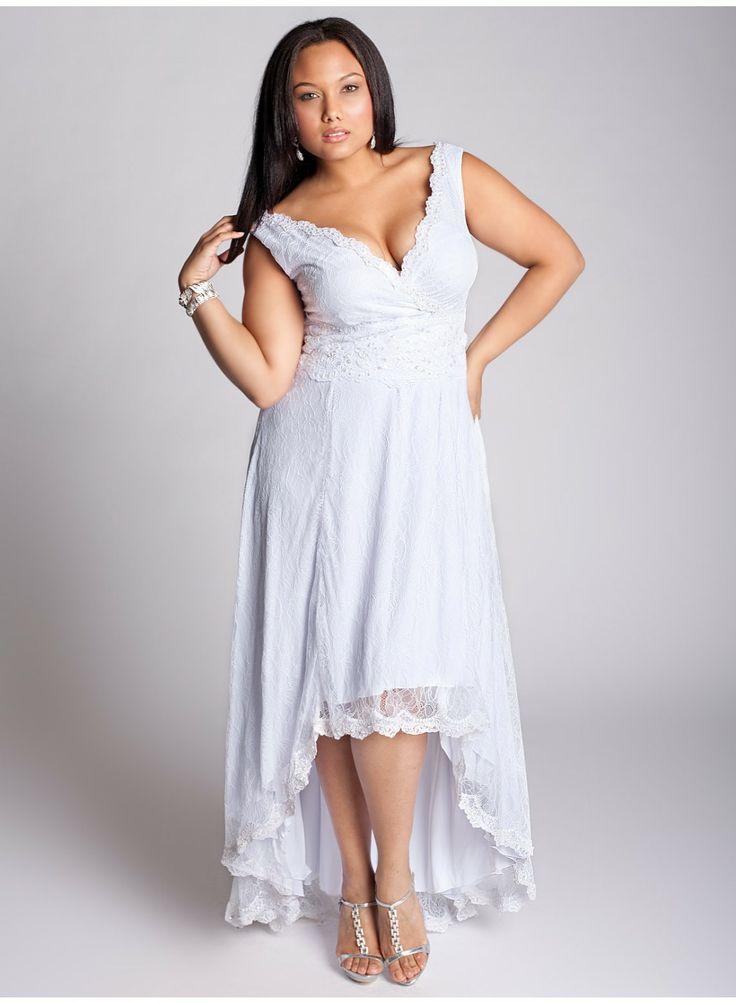 Vestidos para matrimonio civil para gorditas de moda!