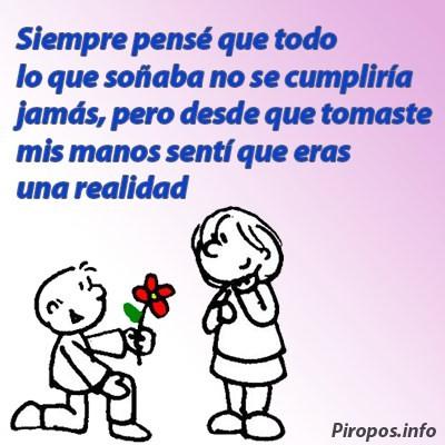 Frases románticas con rima, ¡no podemos pedir más!.