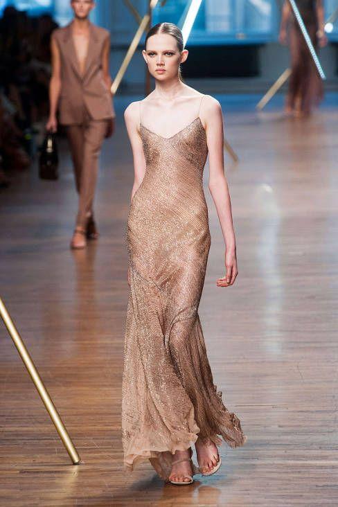Tremendamente glam este vestido de Jason Wu Primavera 2014 directo de la pasarela