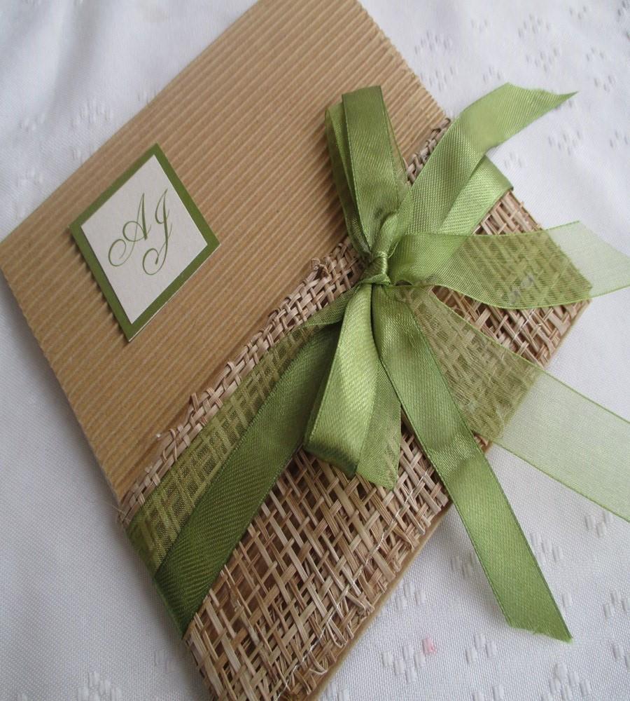Invitaciones Para Matrimonio Rustico : Diseños de invitaciones rústicas para boda con ejemplos