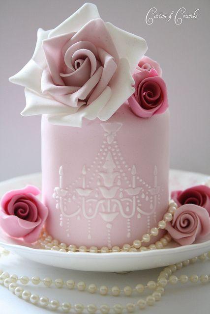 Mini tarta totalmente comestible