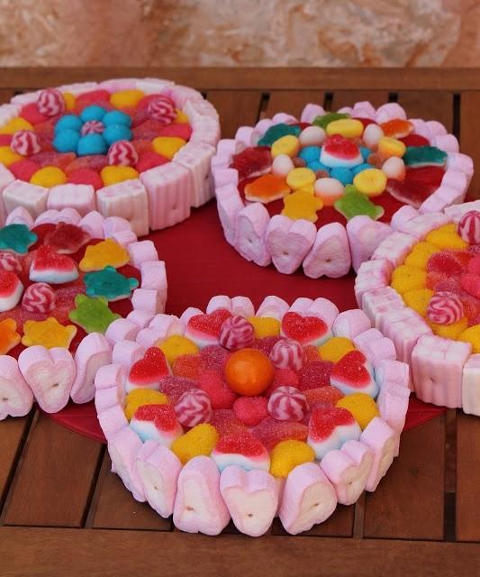 Tartas de chuches originales para ni os con diy para la boda - Ideas para bautizo en casa economica ...
