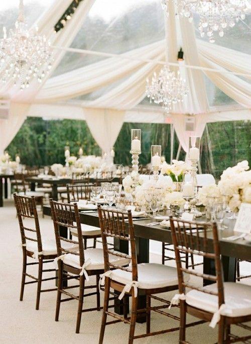 Matrimonio Rustico Elegante : Decoración de salones con telas las ideas más creativas