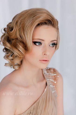 Fotos de peinados para novias actuales y elegantes aqu - Peinados melena corta ...