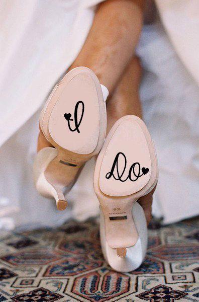 Zapatos de novia, ¡sí quiero!.