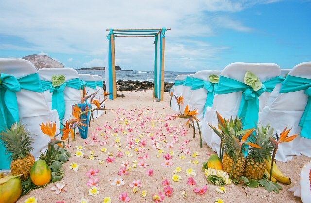 Ceremonias en la playa con ideas para que copies ya - Decoracion boda playa ...