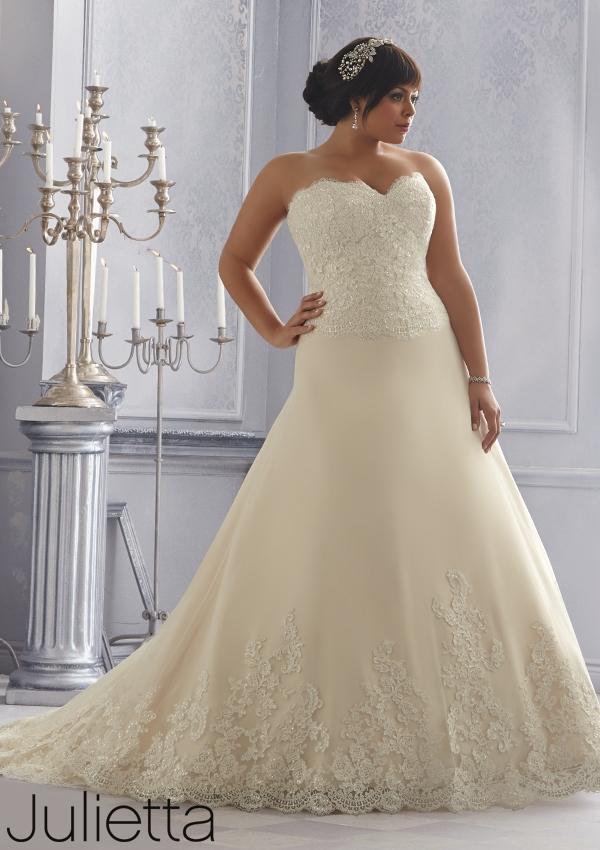 Un vestido de novia de Mori Lee que te hará sentir como tu princesa de cuento favorita