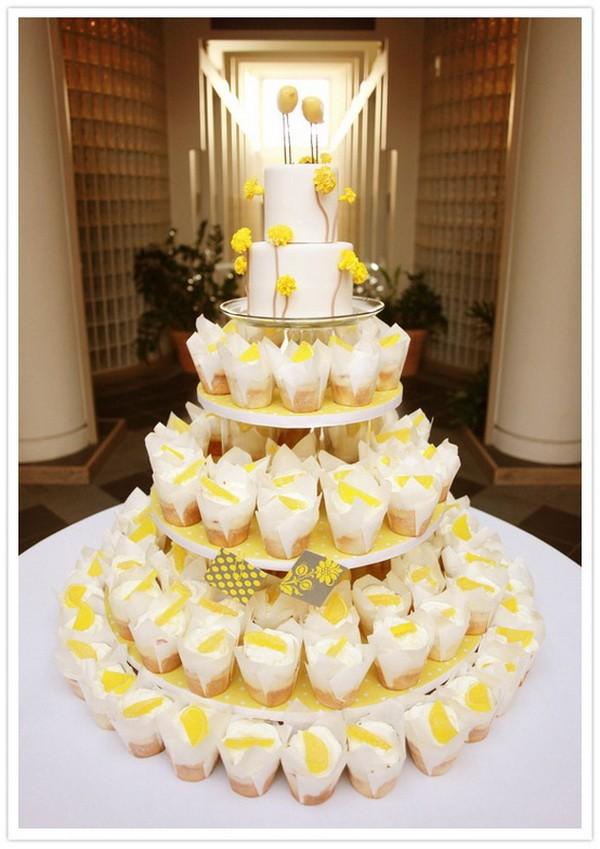 Cupcakes sabor limón