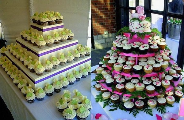 ¿Bandejas redondas o cuadradas para tu postre de Cupcakes?