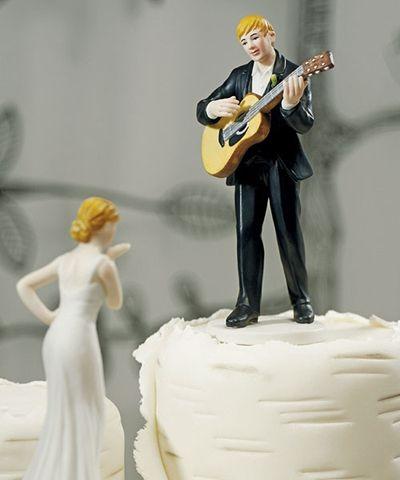 Serenata para acompañar el postre de boda