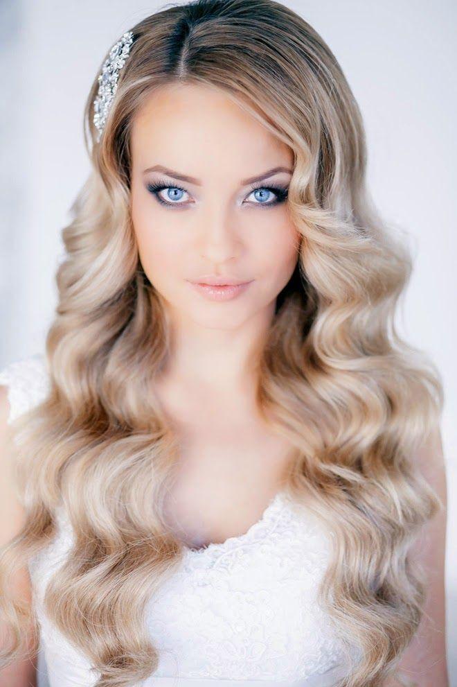 Para las novias de ojos azules, un maquillaje muy natural y elegante