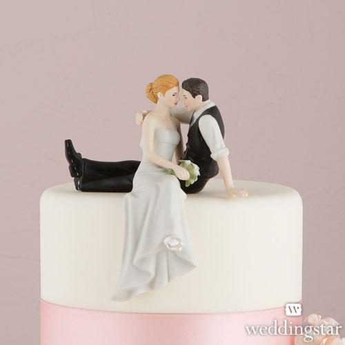 Una figura para tarta personalizada y romántica