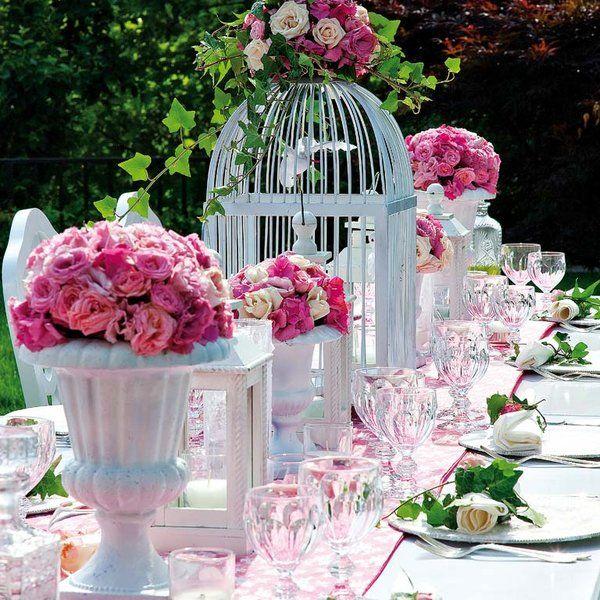 Boda con poco presupuesto trucos para poder organizarla for Decoracion mesas de jardin