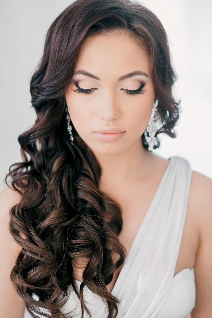 Maquillaje sencillo y natural con un ligero smokey-eyes