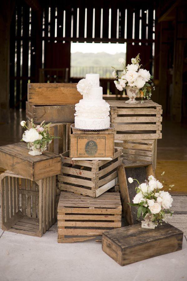 Matrimonio Rustico Como : Decoración para bodas rústica y shabby chic