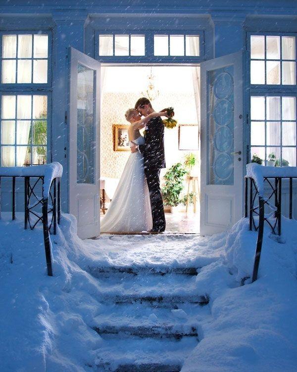 Una imagen congelada y con mucho amor