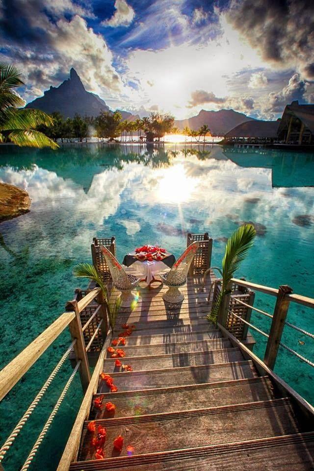 En Tahití nos encontramos esta espectacular vista