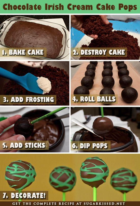 Un paso a paso sencillo para preparar tus propios cake-pops