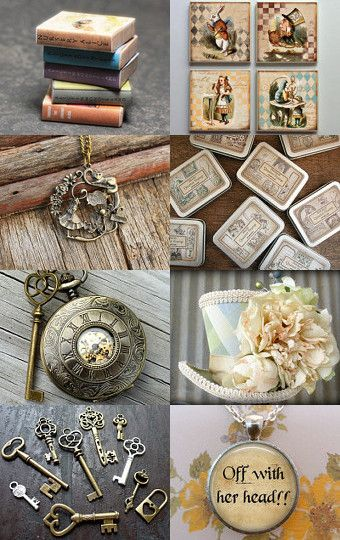Relojes y llaves dos símbolos del cuento de Alicia