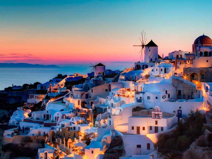 El romanticismo de las Islas Griegas nos atrapa con solo mirar su imagen