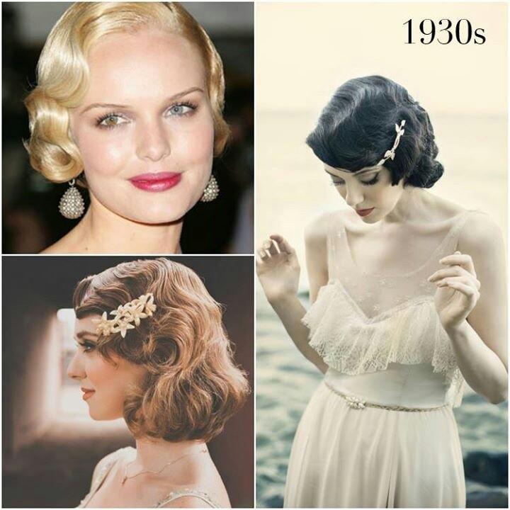 1950 S Style Wedding Hair: Peinados De Novias Con Ejemplos Retro Y Vintage