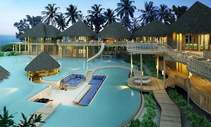 Un resort muy especial para comenzar la luna de miel, Soneva Fushi