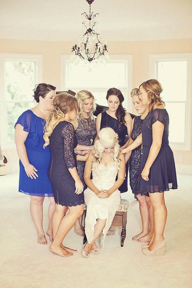 Los últimos consejos de las damas a la novia