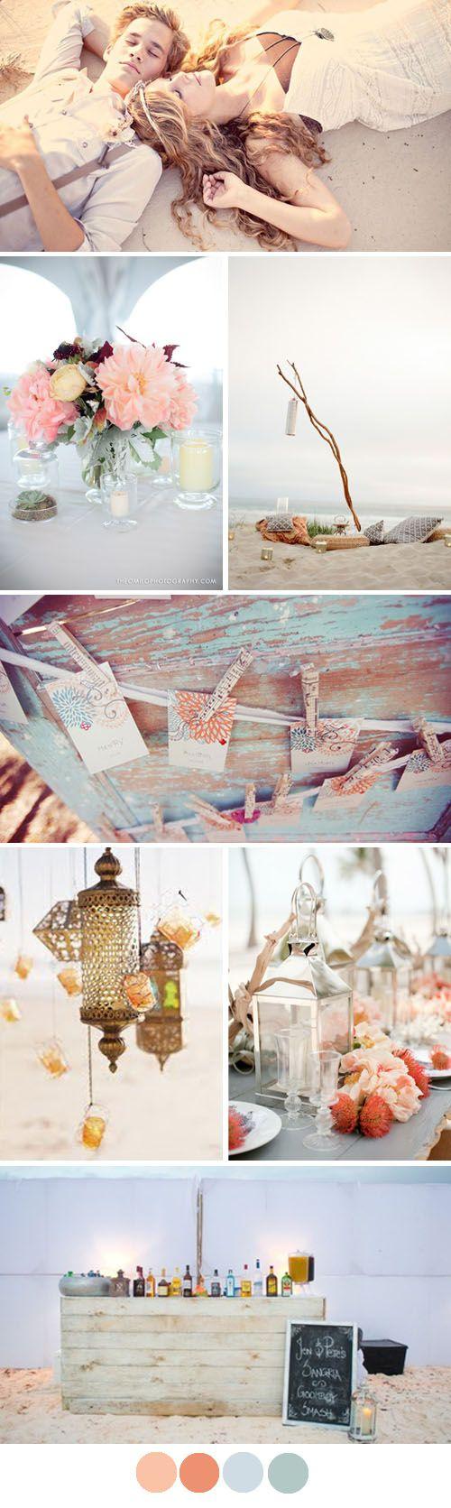 Decoración para una boda muy tierna y romántica