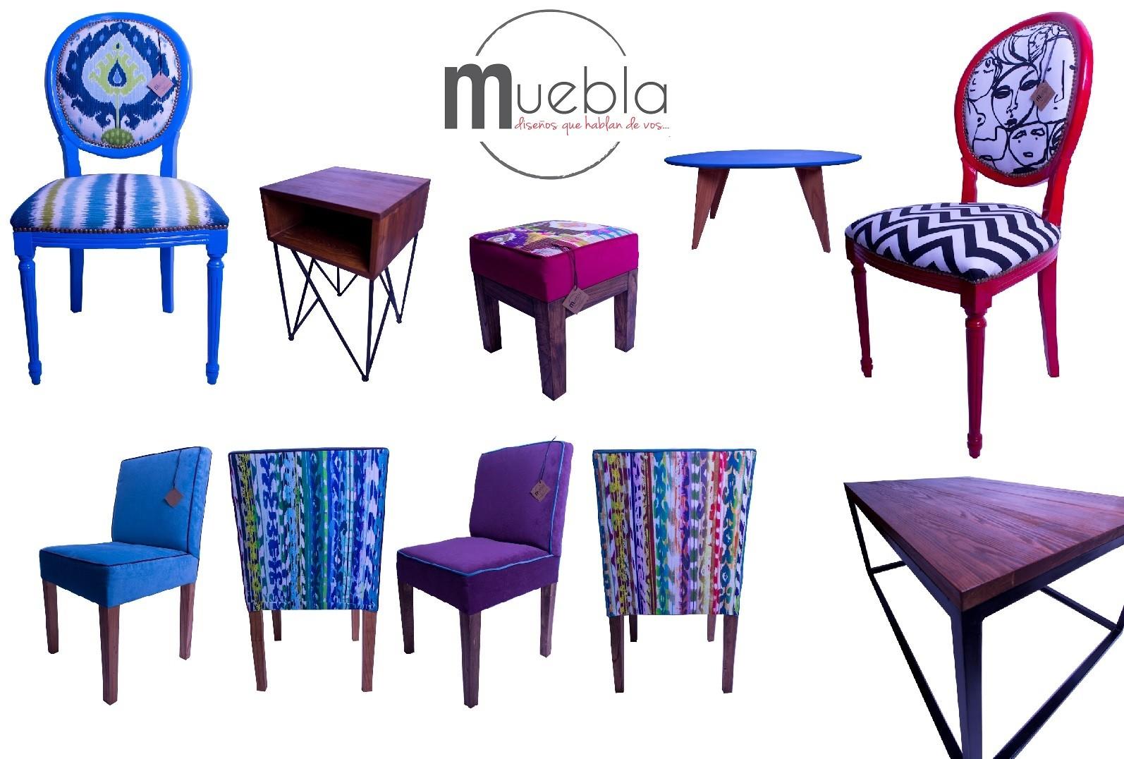 Diseños únicos de la tienda on-line Muebla