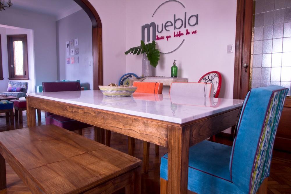 Si quieres un comedor diferente, apuesta por Muebla