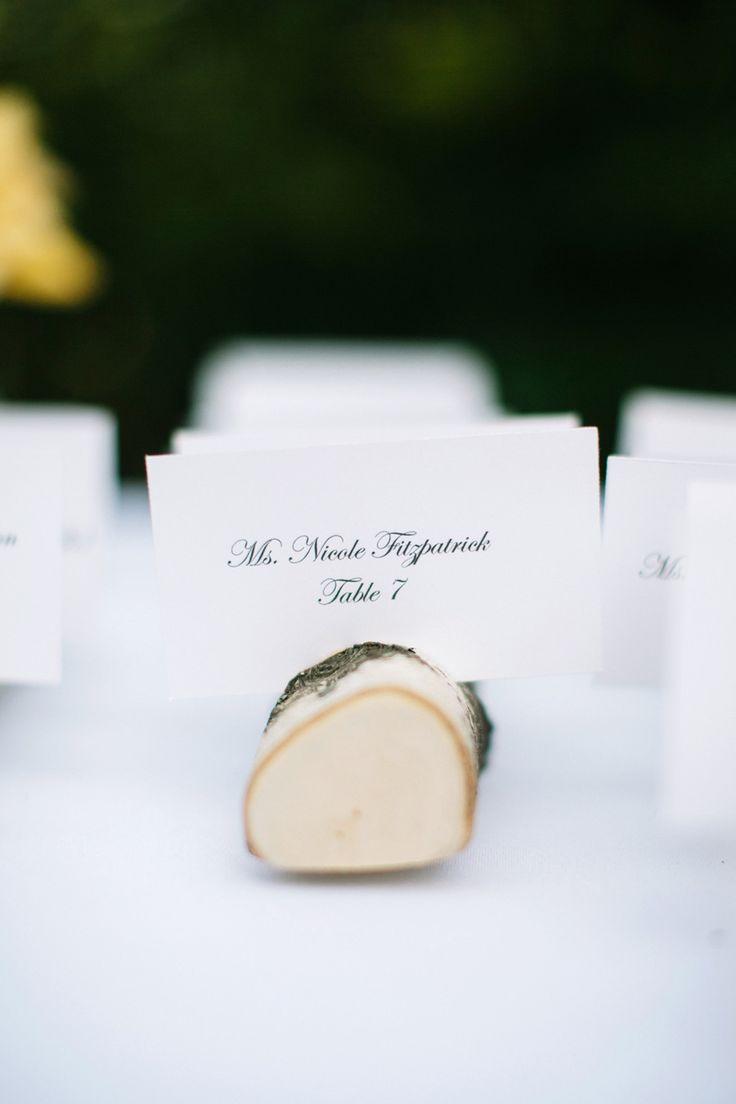La sencillez forma parte de la decoración de las mesas de boda