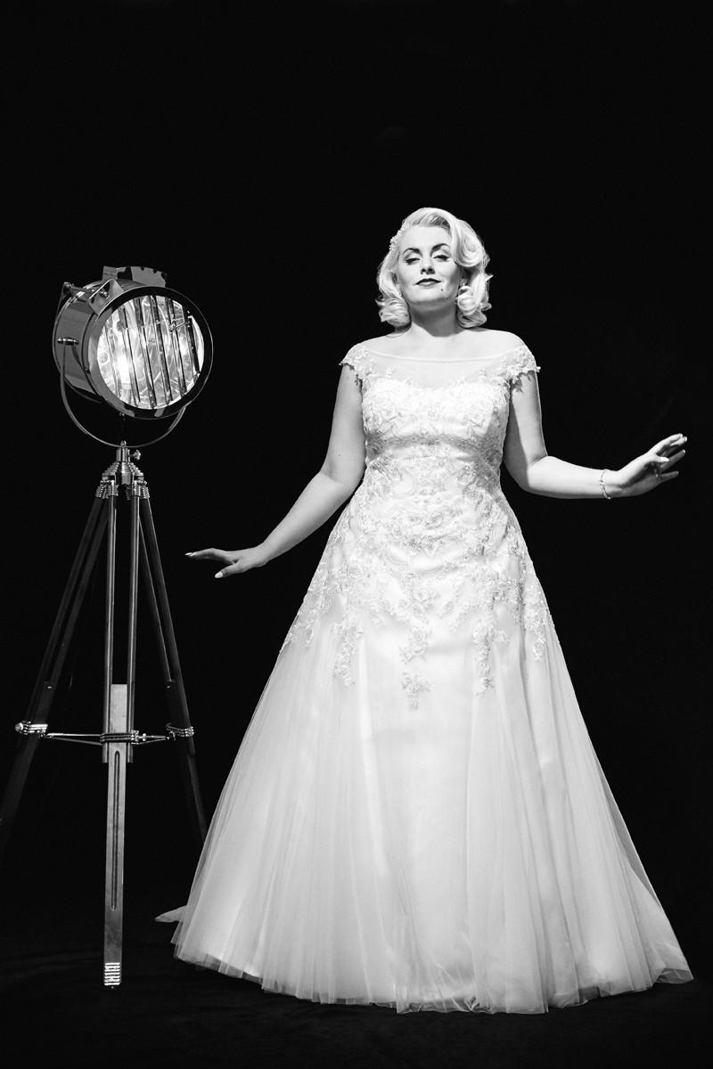 Vestido de novia para gorditas 2016 gracias a Benjamin Roberts