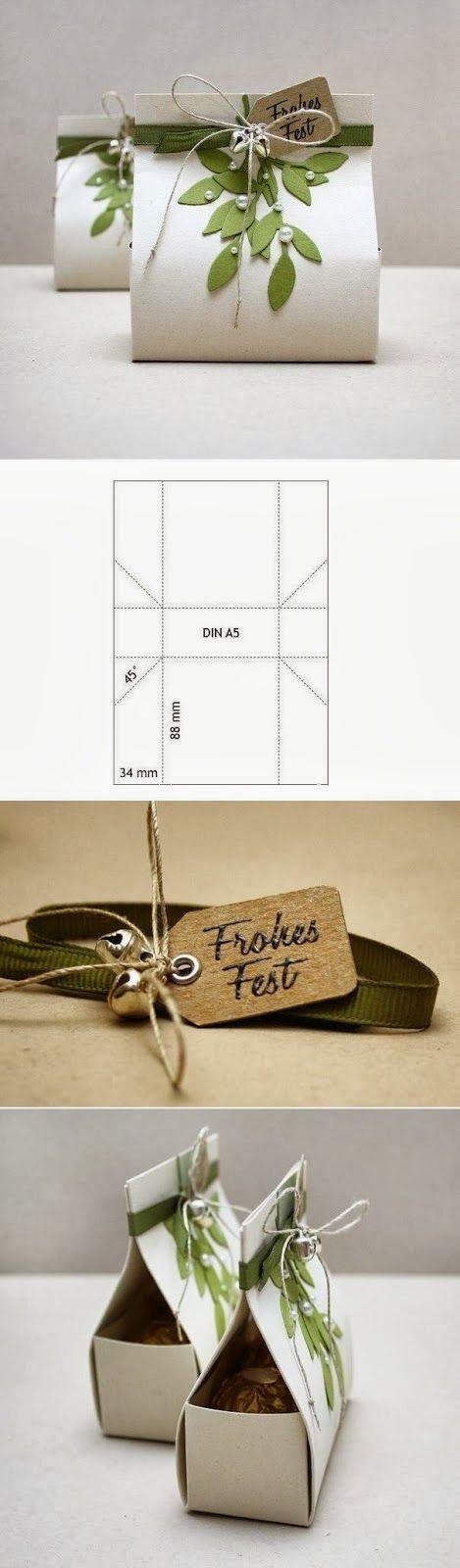 Cajas de regalo para boda ecológica