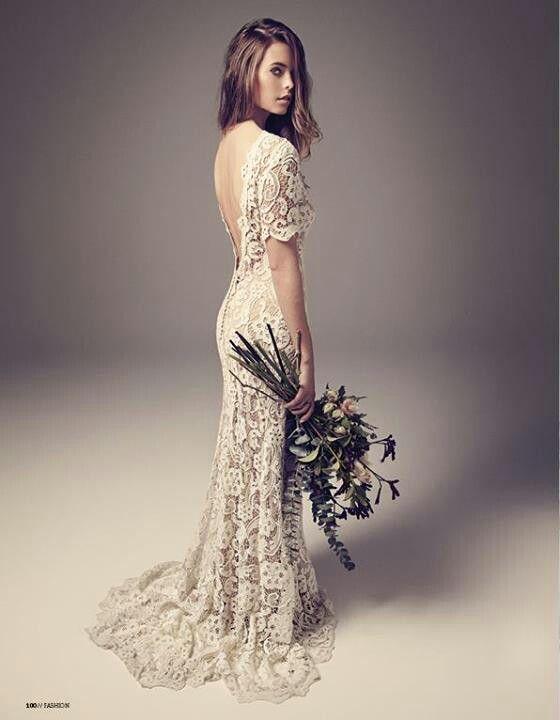 Los ramos silvestres son perfectos para las novias con claro estilo bohemio y vintage