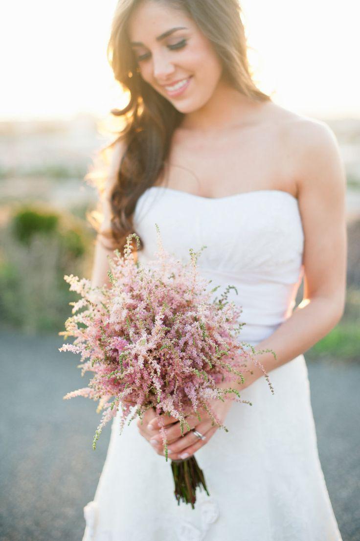 Un ramo de novia muy sencillo y romántico