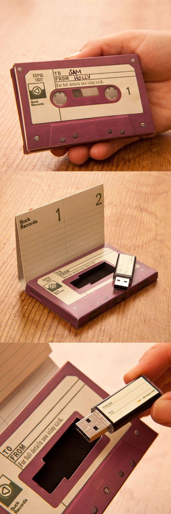 Los cassettes siempre quedarán en el recuerdo y de ahí que puedan formar parte de un regalo con sorpresa