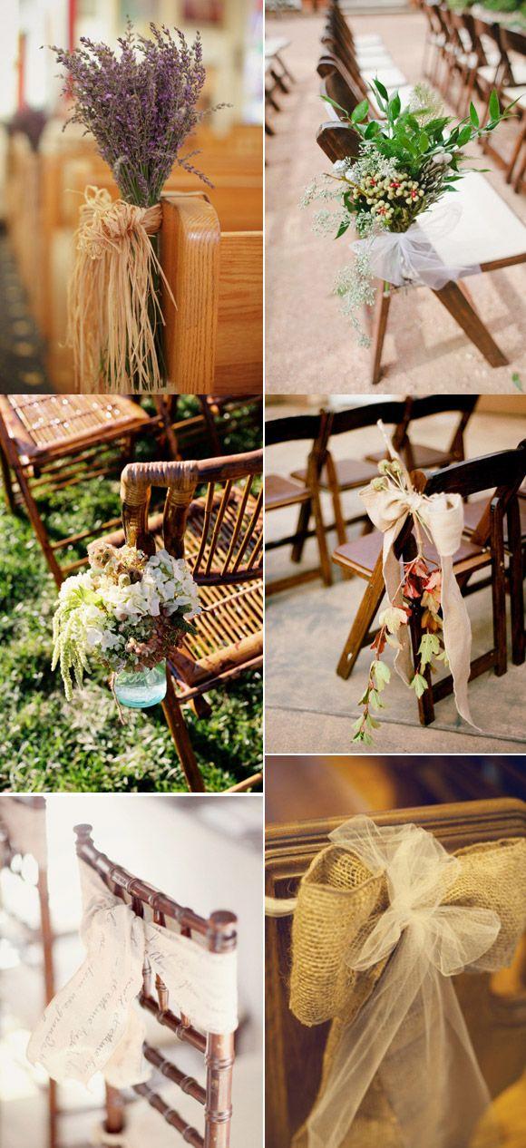 La decoración de sillas no puede faltar...¿cuál prefieres tú?