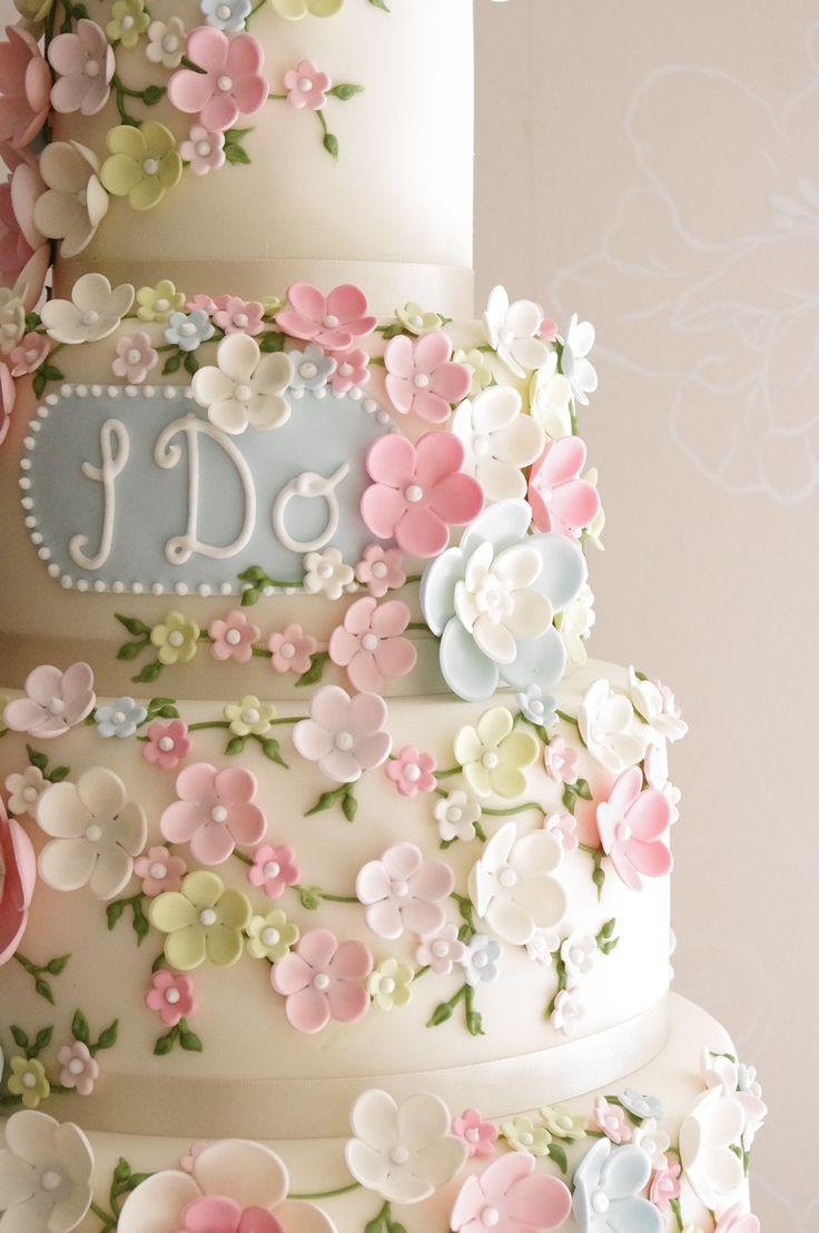 El sí quiero también hay que dárselo a este rico pastel
