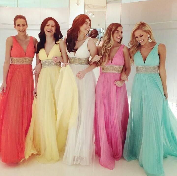 Vestidos Para Damas De Honor Modernos Y Elegantes