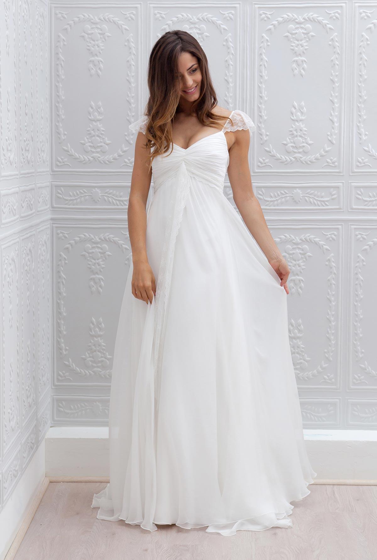 c1a5050c101 Vestidos de novia para embarazadas - ¡Modelos preciosos!