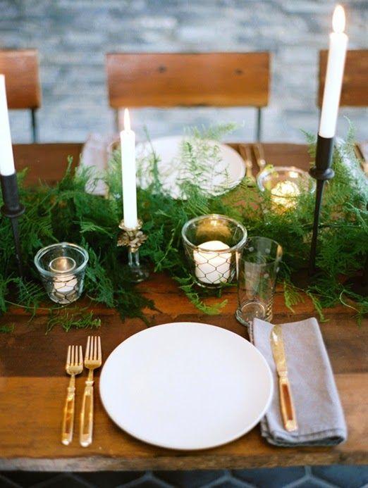 Pequeñas velas darán calidez a cualquier centro de mesa que se precie