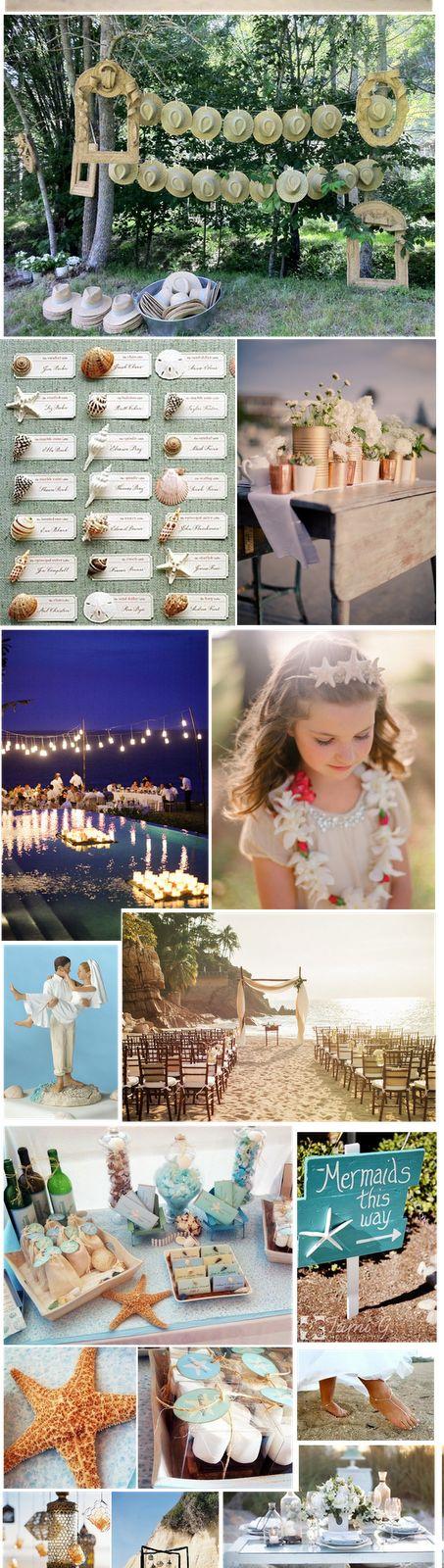 Sorpréndelos a todos con una boda muy romántica en la playa