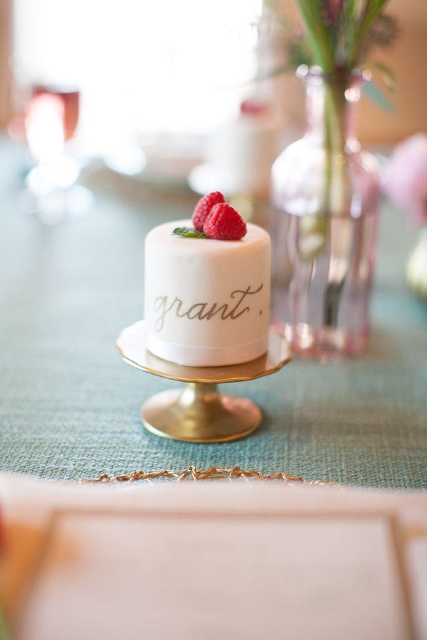 ¿Qué te parecen los pasteles personalizados para tu boda?